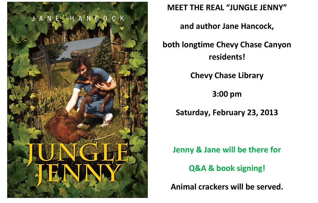 "MEET THE REAL ""JUNGLE JENNY"""