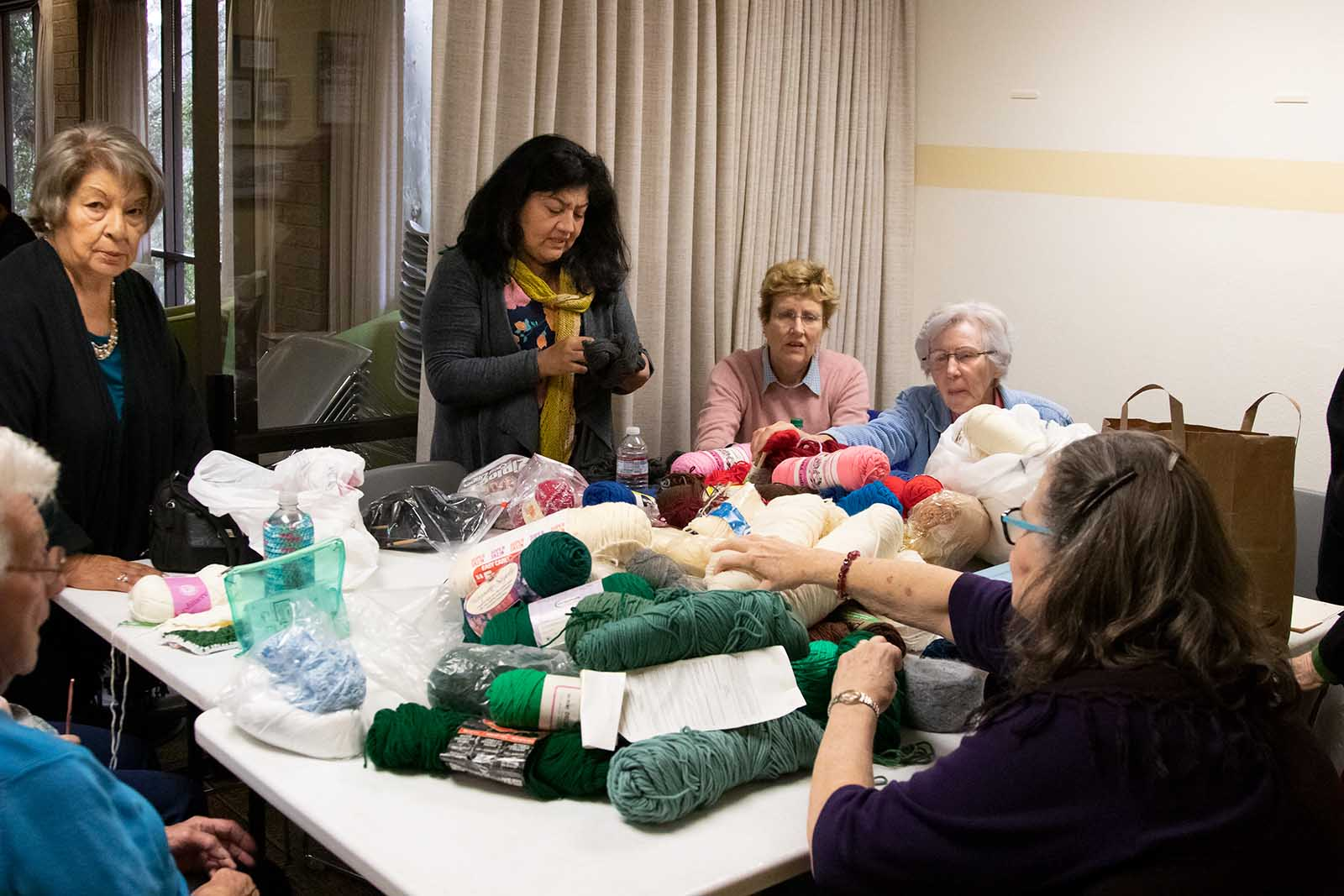 Chevy Chase Library Knitting Club