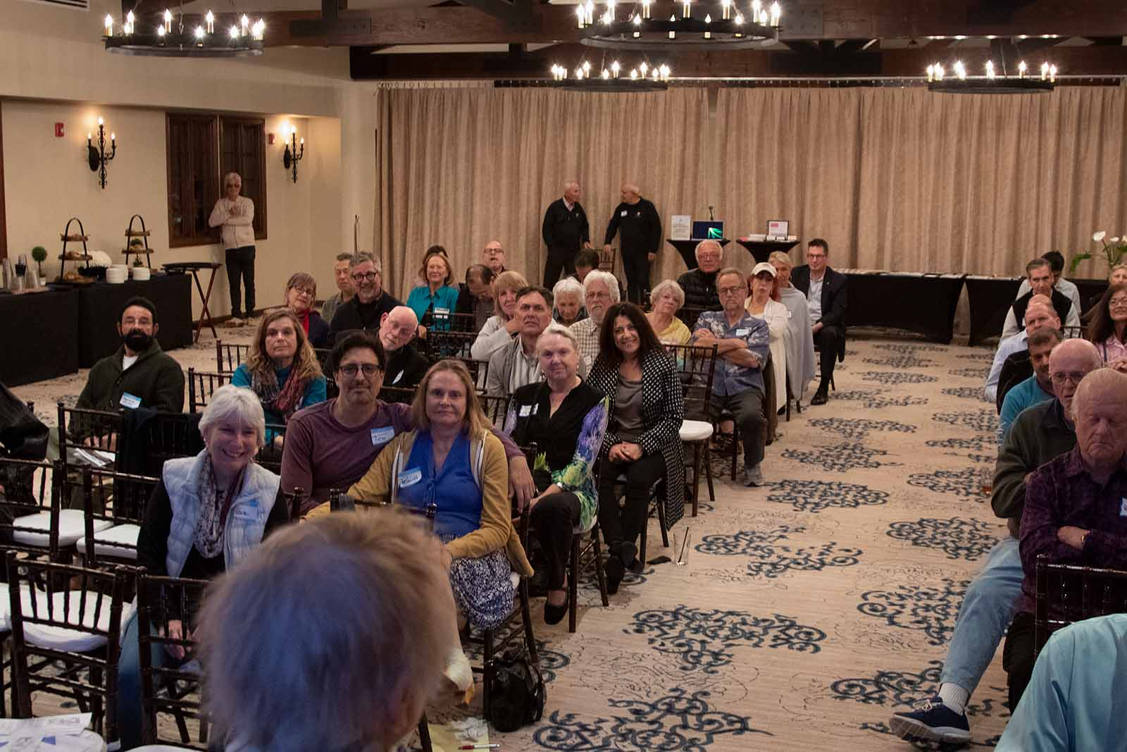 The Chevy Chase Estates AssociAtion annual meeting 2020.