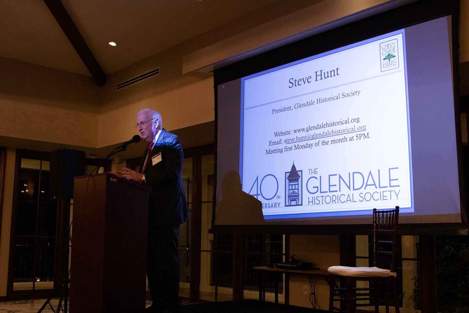 Steve Hunt Glendale Historical Society
