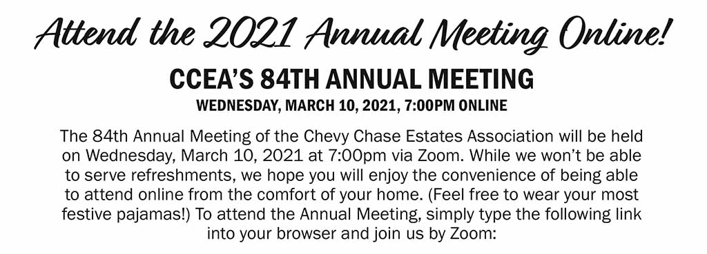 Attend the CCEA's 84th annual meeting