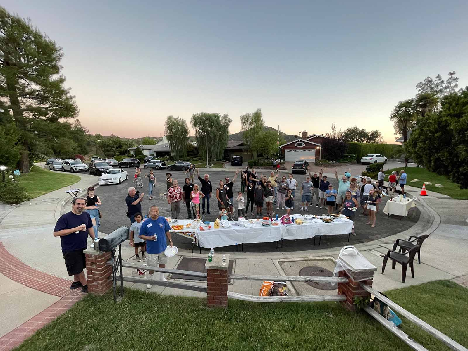 National Night Out on Buckingham Dr.